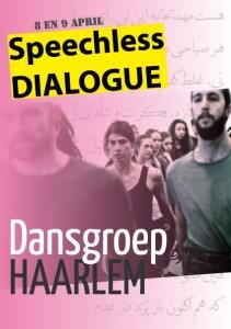 speechless dialogue flyer